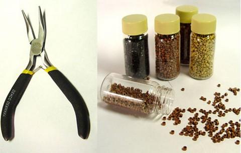 Инструменты для японского наращивания волос