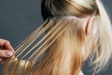 Снятие наращенных волос и коррекция
