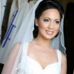Свадебная прическа с начесом