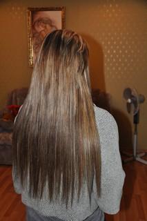 Краска слезла с наращенных волос