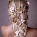 Свадебные прически: косы и плетения