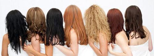 типы волос для наращивания