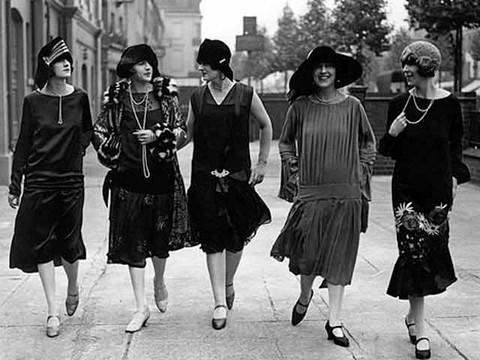Женщины в 20-е года ХХ века