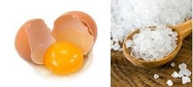 Ингредиенты для яичной маски