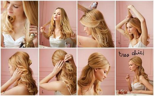 Прически на длинные волосы распущенные