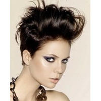 Стрижки на короткие волосы в стиле рок-н-ролл