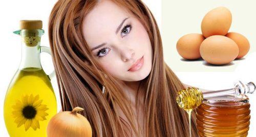 Масло яйца мед