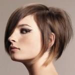 Стрижки на короткие волосы с начесом