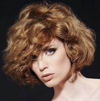 Вечерние прически на средние волосы кудри