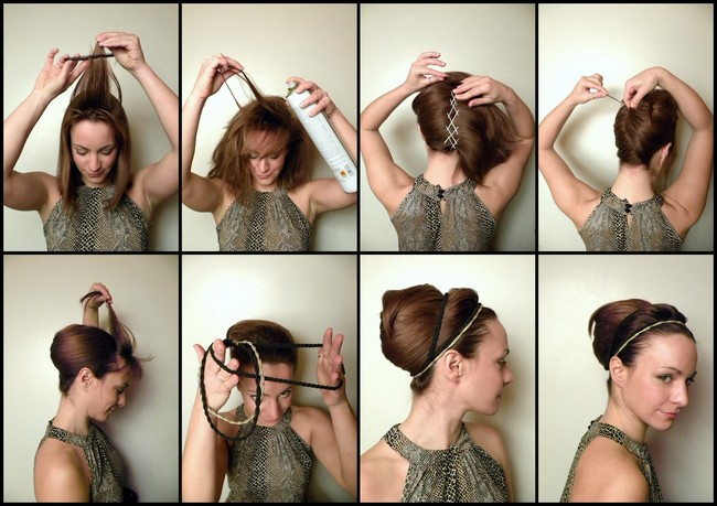 Как сделать прически пошагово с фото