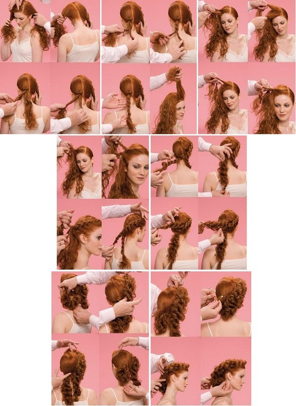 Ажурные косы