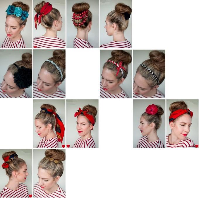 как сделать прическу валиком для волос видео