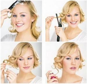 Женские причёски на каждый день для средних волос