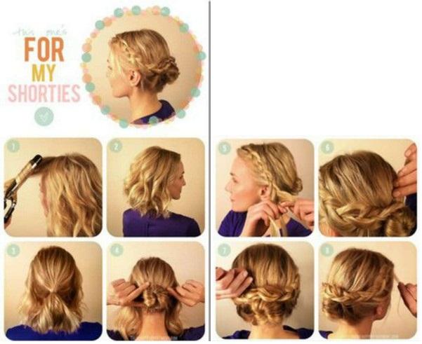 Причёски С Инструкцией На Каждый День - фото 7
