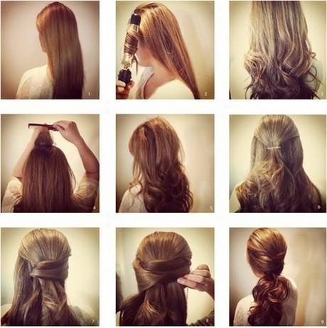 Красивая и лёгкая причёска своими руками фото