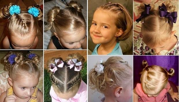 Прически для маленьких девочек