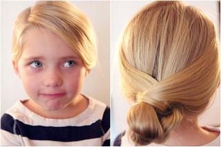 Прически девочке на длинные волосы