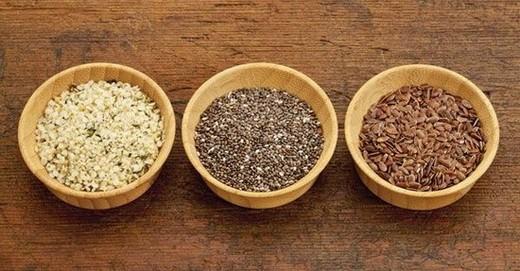 Семена льна и конопли