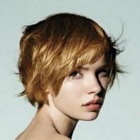 Стрижка рапсодия на короткие волосы