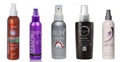 Спрей кератиновый для волос