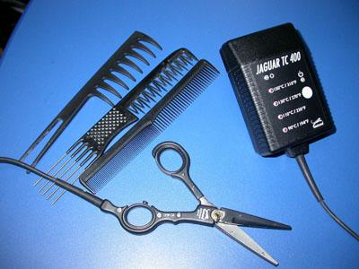 Ножницы для термической стрижки Jaguar