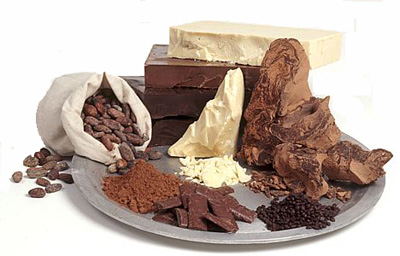Какао-масло и порошок