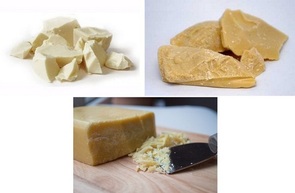 Какао-масло рафинированное и нерафинированное