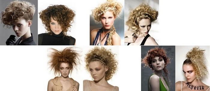 Кудрявые и вьющиеся прически Стрижки и прически для кудрявых волос