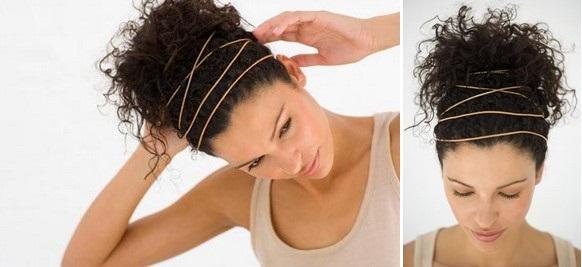Прически на кудрявые длинные волосы Пошаговые инструкции причесок для кудрявых волос