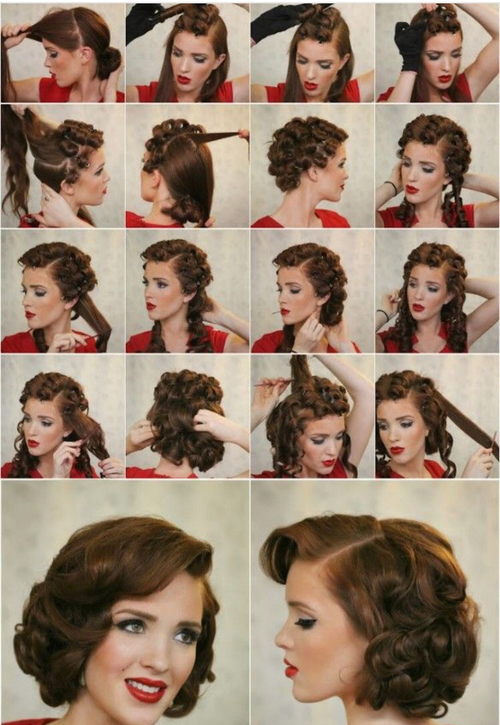 Причёски на жидкие волосы пошагово 24