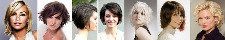 прически на средние волосы для овального лица