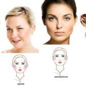 способы определить форму лица