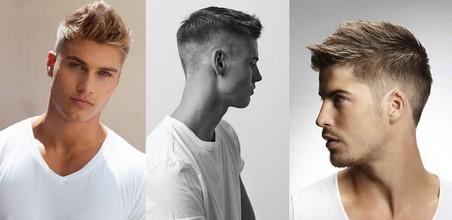 Мужские стрижки на короткие волосы