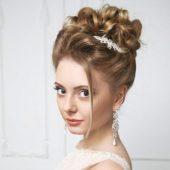 Свадебная прическа пошагово