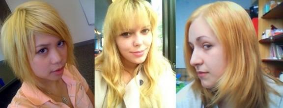 Осветление волос и желтизна