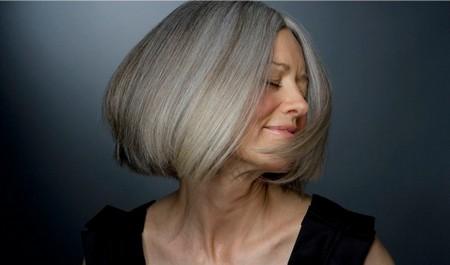 Окрашивание поседевших волос