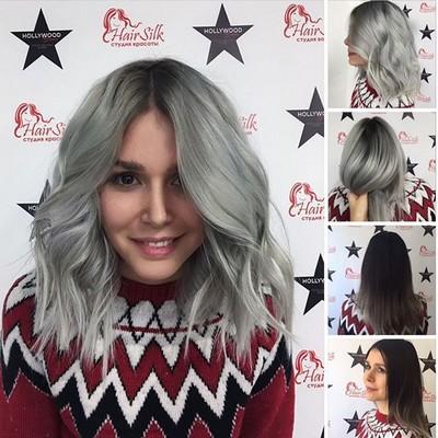 Окрашивание поседевших волос Выбираем краску для тусклых и поседевших волос
