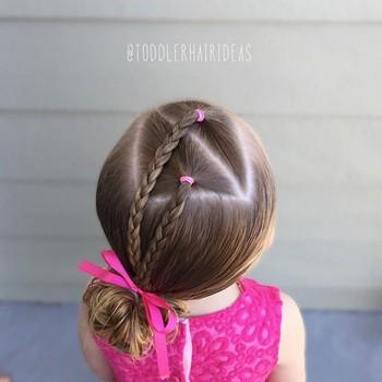 Прически для девочек