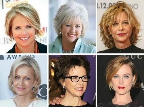 Стрижки и прически для женщин 50 лет
