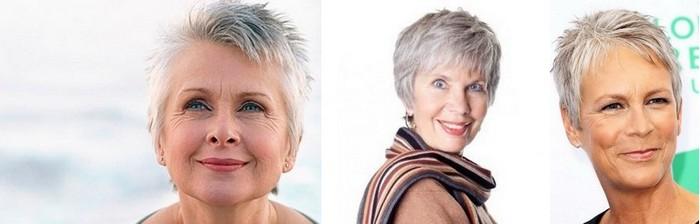 Короткие стрижки для женщин 50 лет