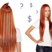 Наращивание волос цена Сколько стоит нарастить волосы