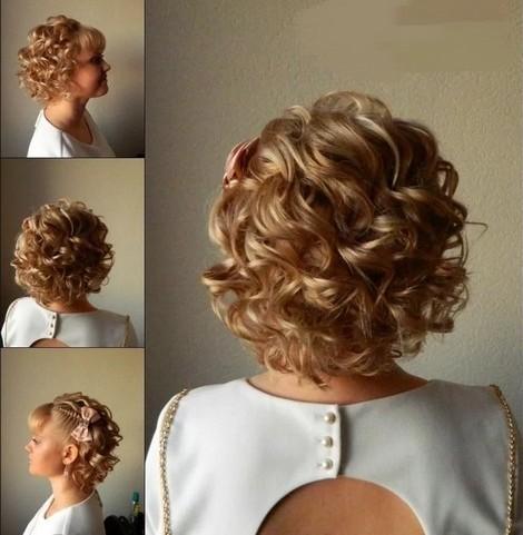 100 причесок на выпускной Вечерние прически на средние волосы