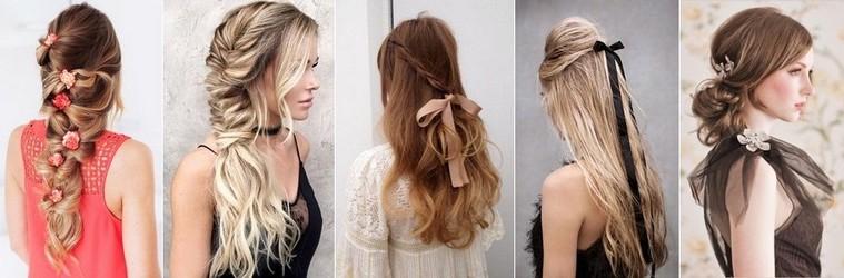 100 причесок на выпускной Вечерние прически на длинные волосы