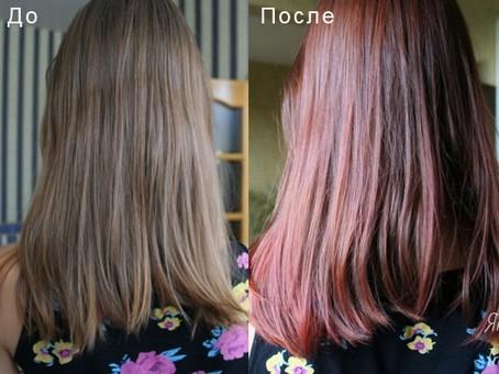 Оттеночный шампунь: результат использования до и после