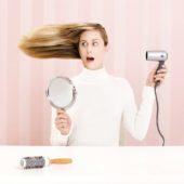 Снимаем статическое электричество с волос