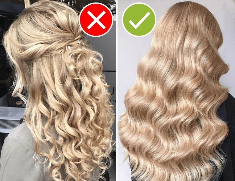 Причёски не модные сильно завитые кудри
