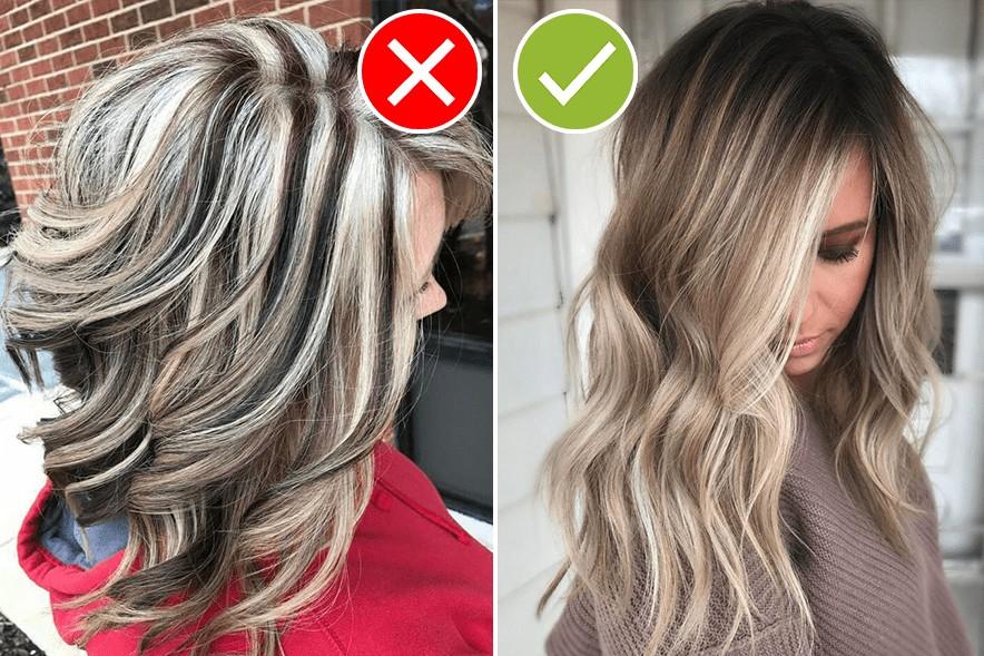 Причёски не модные мелирование